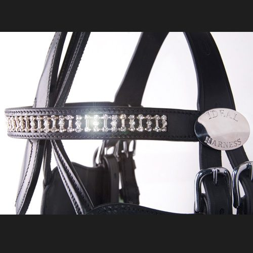 Frontalera con cristales Swarovski para tu caballo.