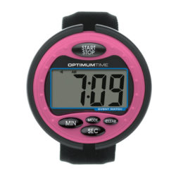 reloj optimum time rosa