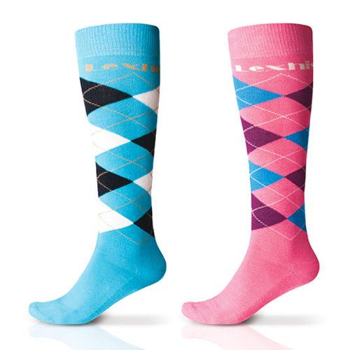 calcetines-lexhis-celeste-rosa