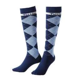 calcetines-tattini-escoceses-azul