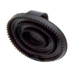 almohaza-goma-ovalada-negra-caballo