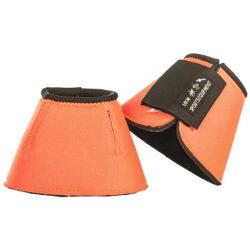 campana-neopreno-caballo-protector-naranja